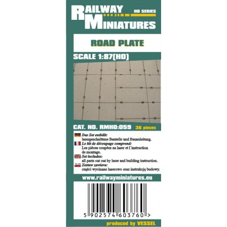 RMH0:059 Road Plate